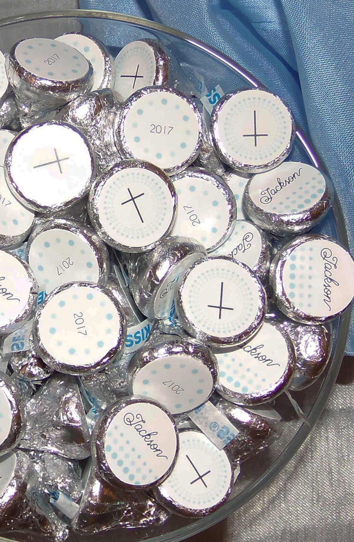 First Communion Personalized Kisses