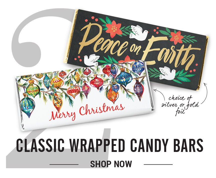 Classic Wrapped Candy Bars