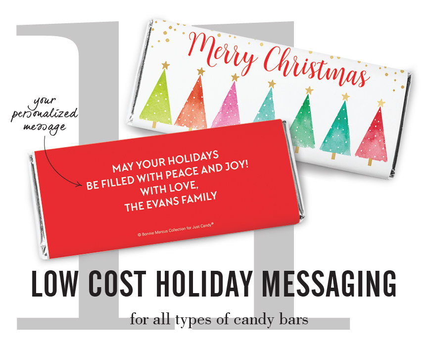 low cost holiday messaging