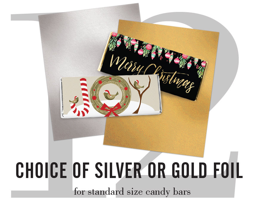 choice gold or silver foil