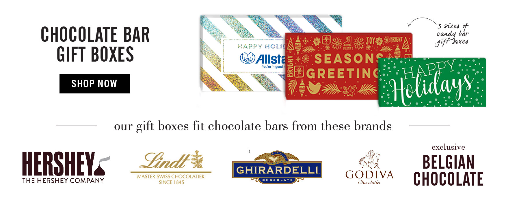 Chocolate Bar Gift Boxes