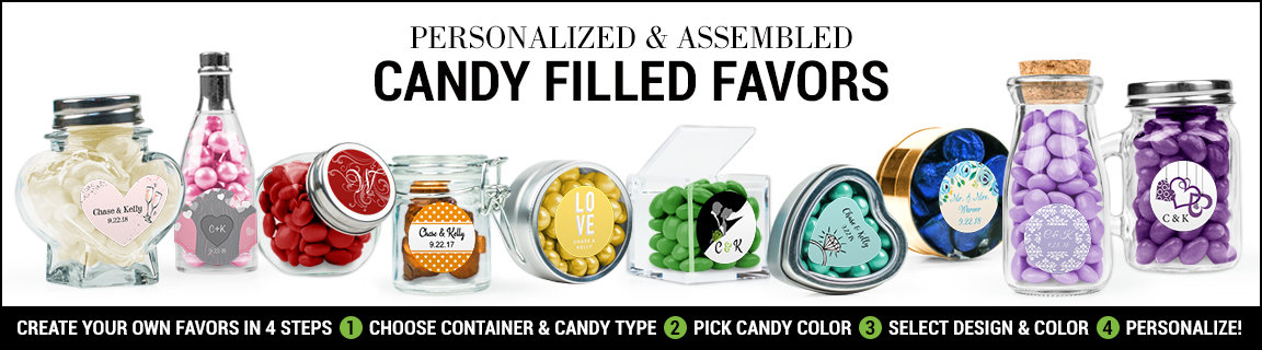 Shop Personalized & Assembled Candy Filled Favors