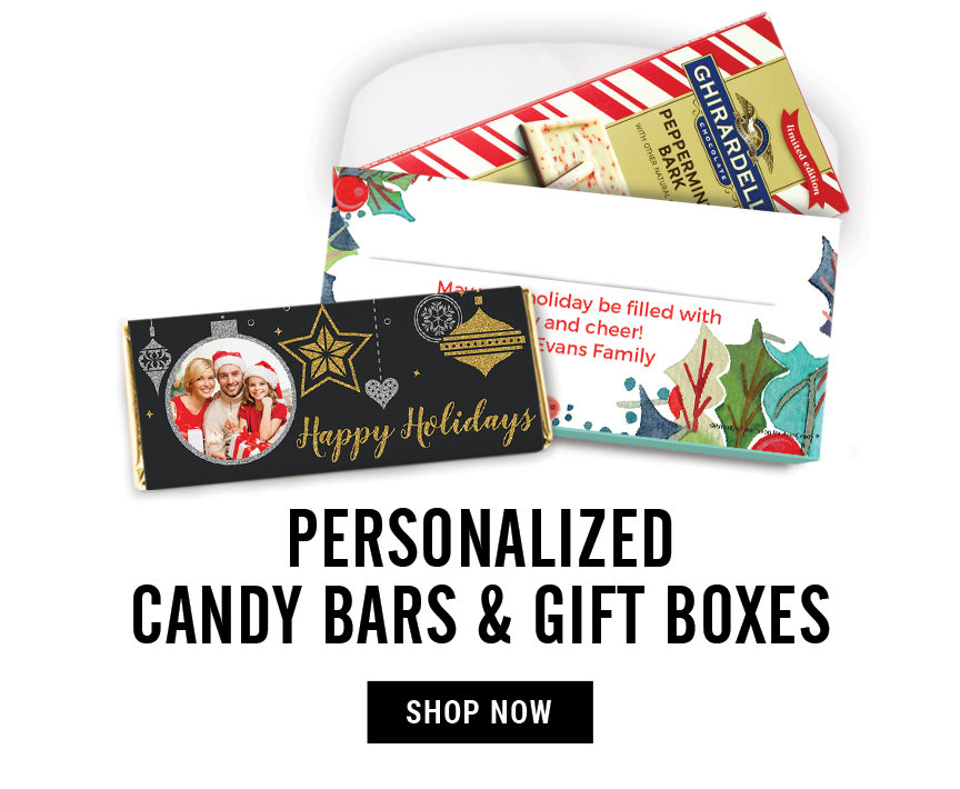 Candy Bars and Gift Boxes