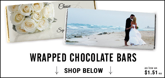 shop personalized wrapped candy bars