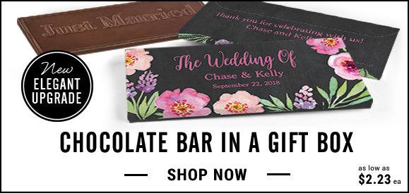 shop personalized candy bars in a gift box