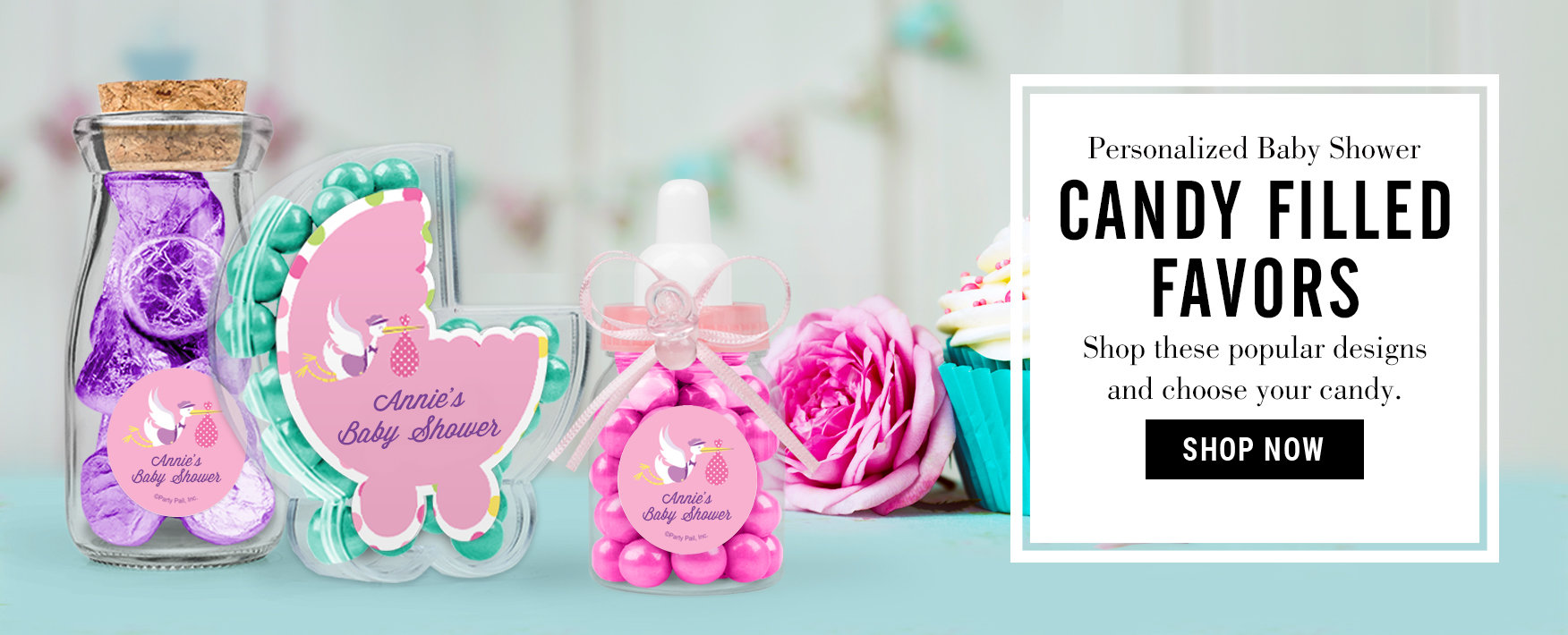 Baby Shower Favors, Personalized Baby Shower Candy Bars & More