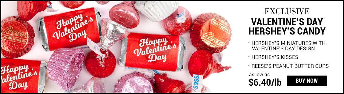 exclusive valentine's day hershey's candy