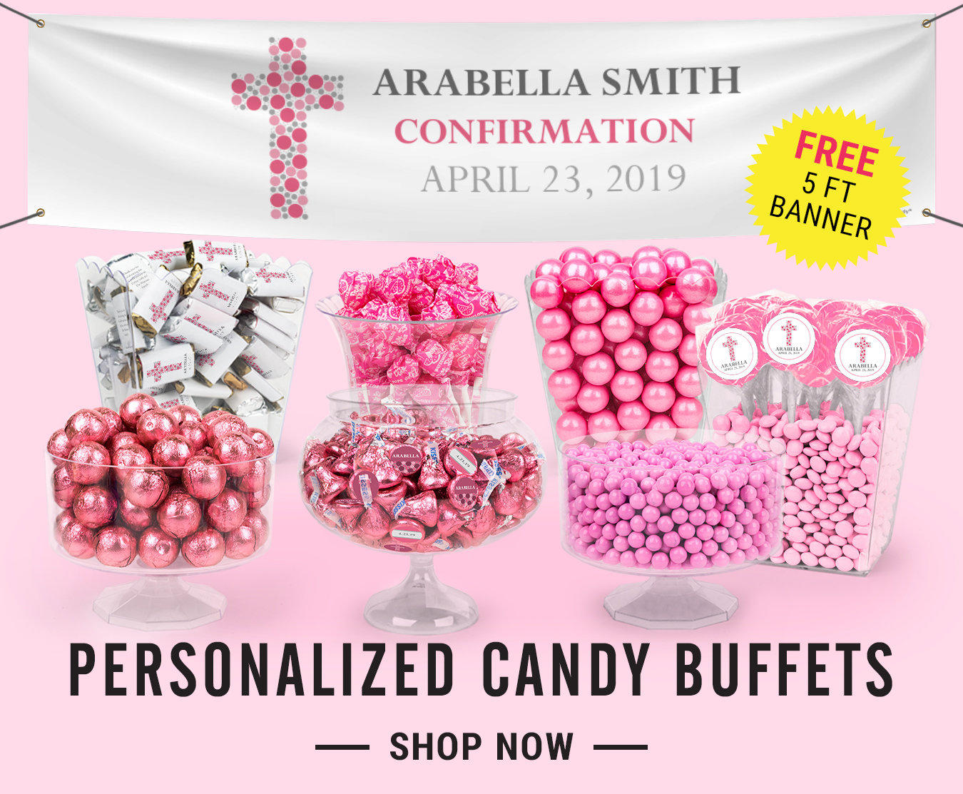 Confirmation Candy Favors | Personalized Wrappers and Chocolate Bars