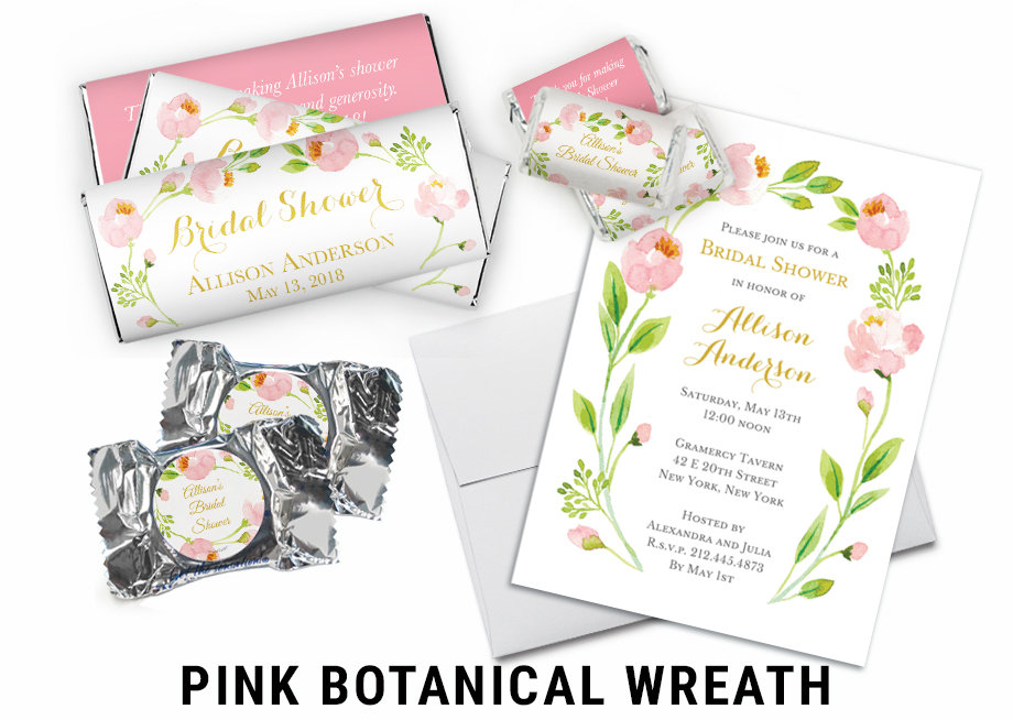 Pink Botanical Wreath