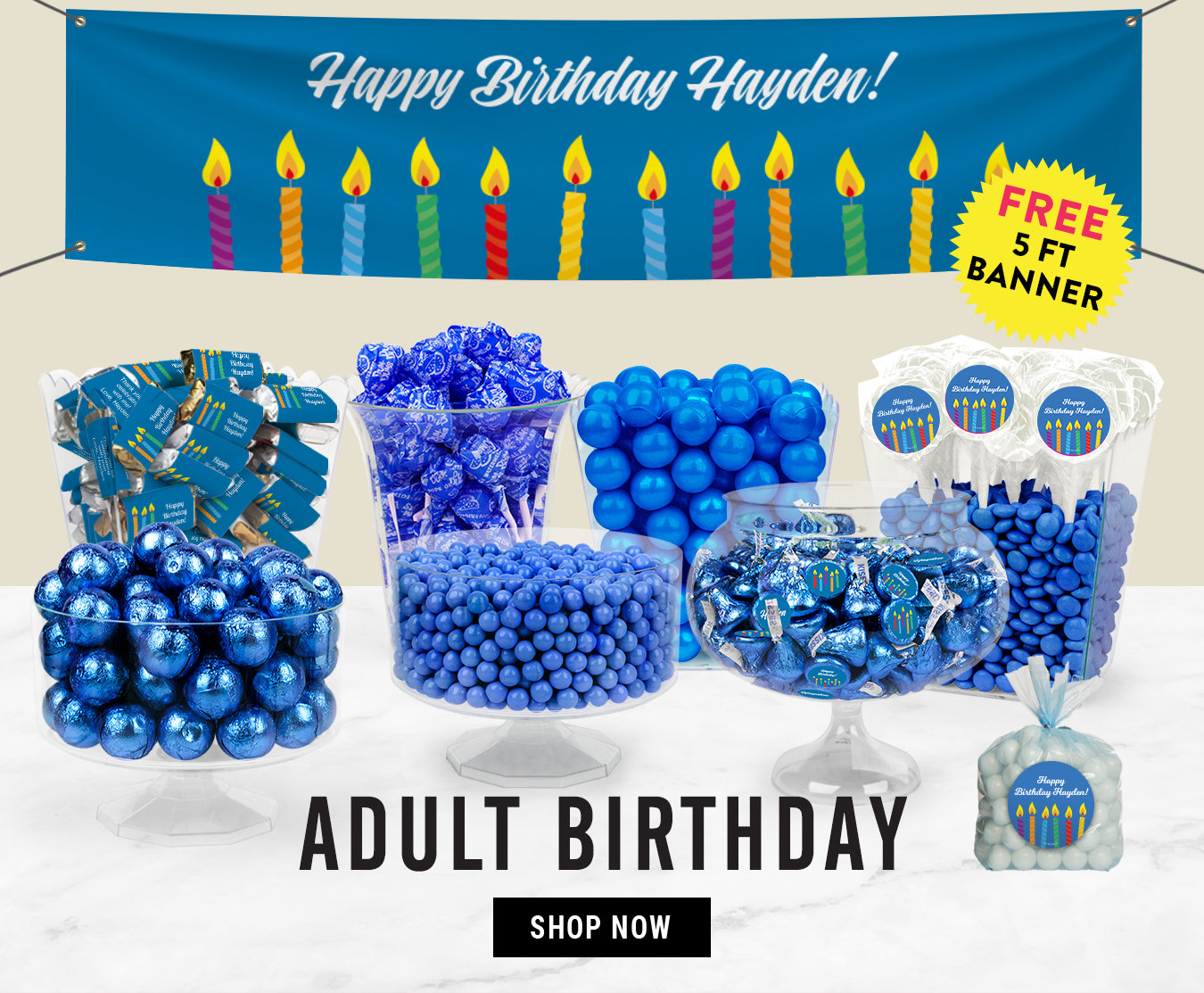 Shop Adult Birthday