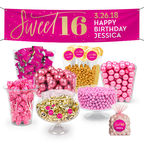 18th Birthday Birthday Party Favor Gumball Candy: Unique Birthday Party Candy