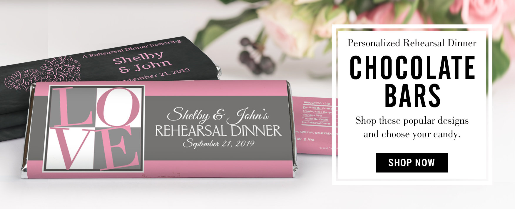 Wedding Rehearsal Dinner Party Favors