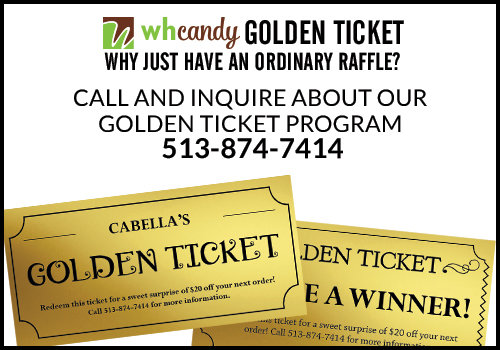 Shop Golden Ticket Program