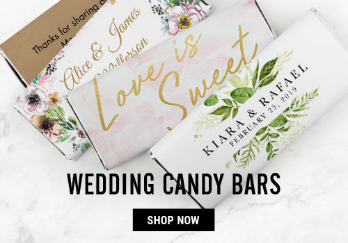 Personalized Wedding Chocolate Bars