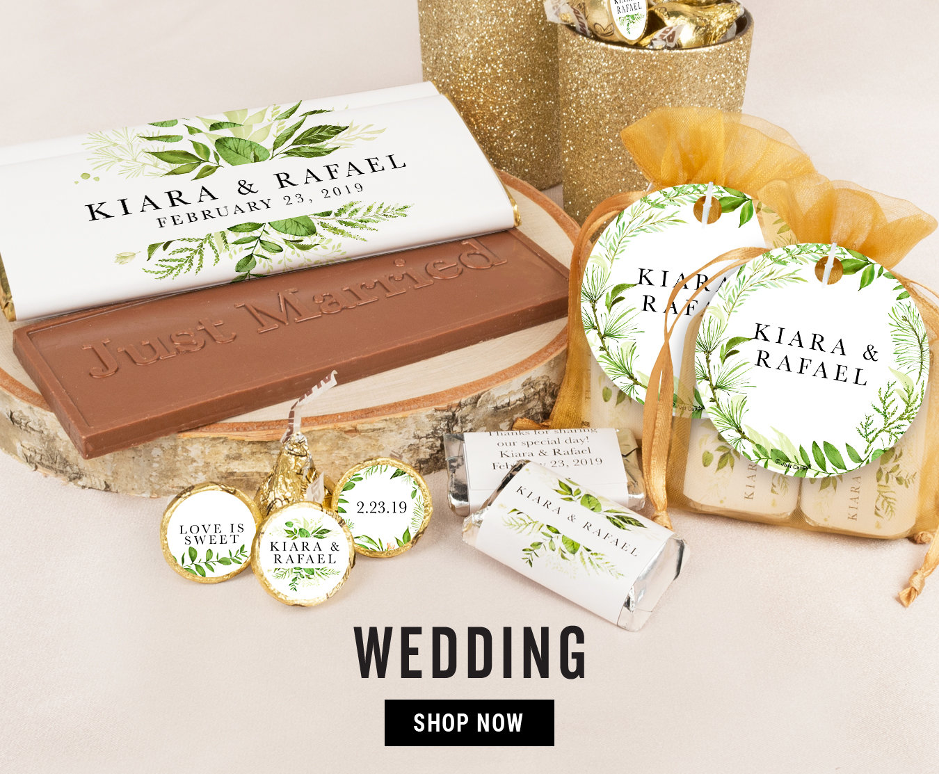 Shop Personalized Wedding Candy Favors