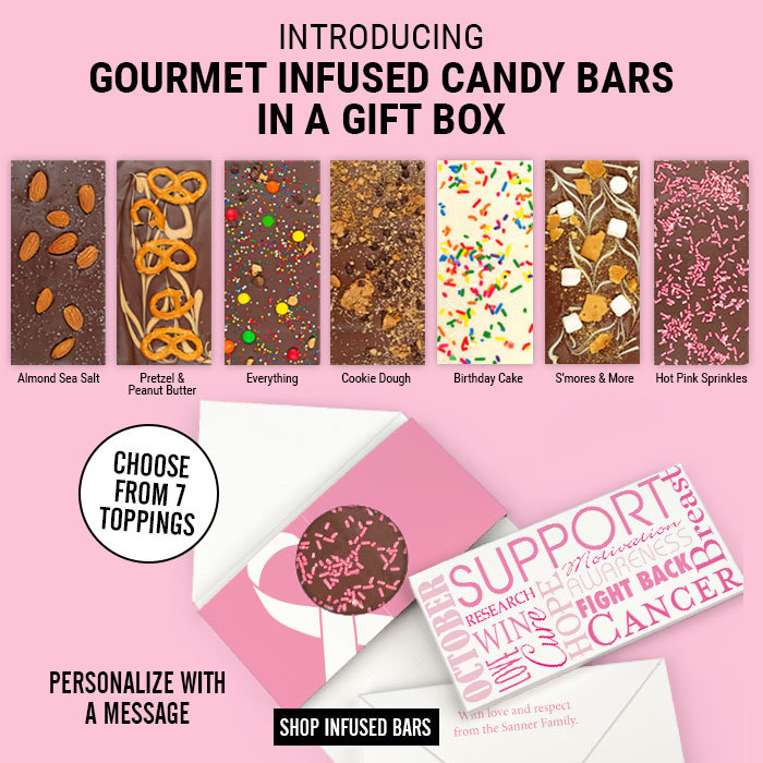 Gourmet Infused Chocolate Bars in a Gift Box
