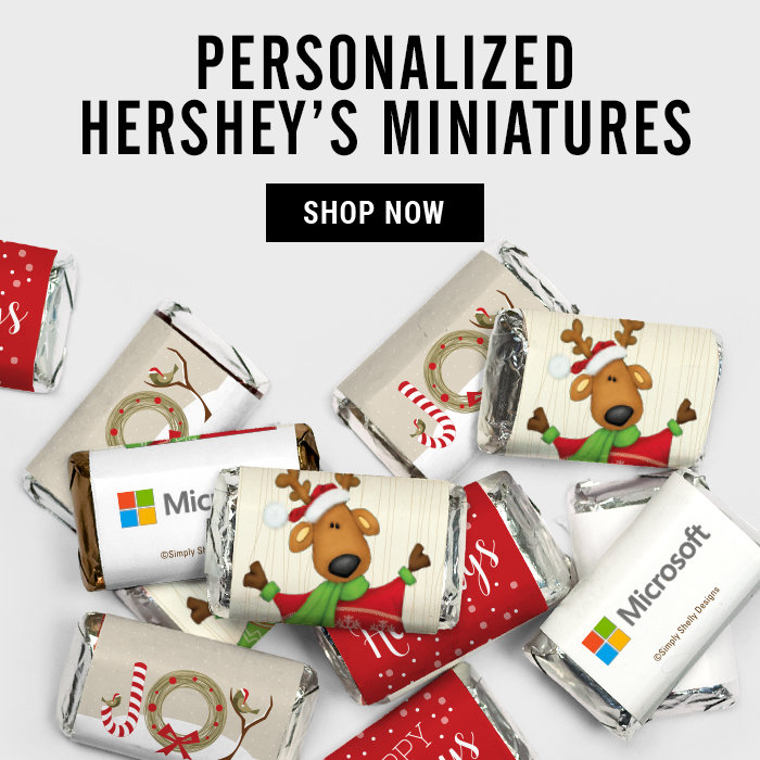 Holiday Hershey's Miniatures