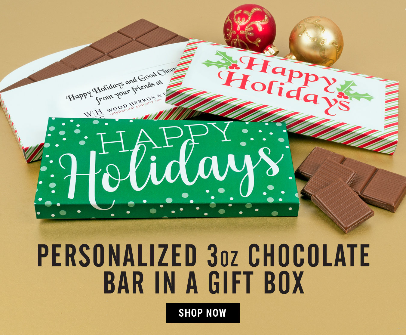 3oz Chocolate Bar in a Gift Box