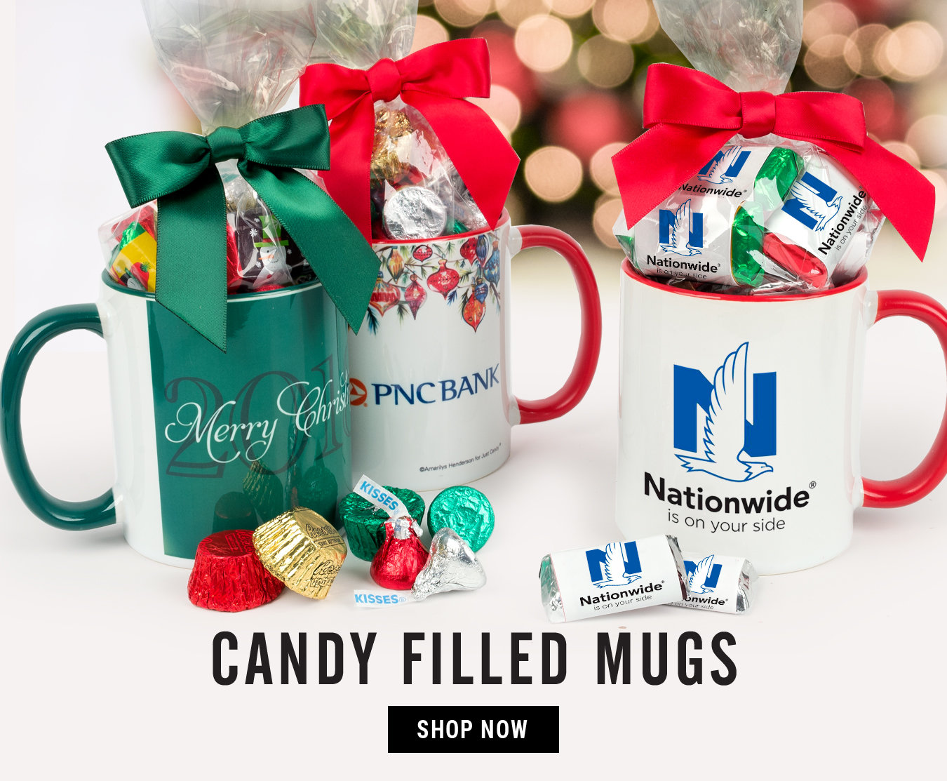 Candy Filled Mugs