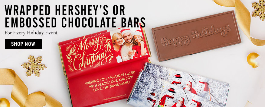 Christmas Chocolate Bars