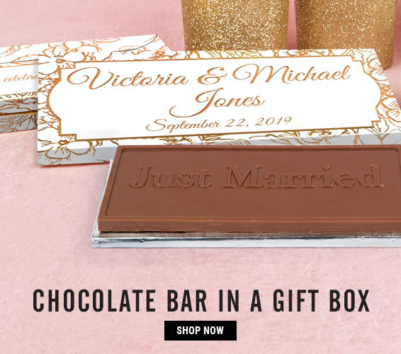 Custom Chocolate Bars in Gift Boxes