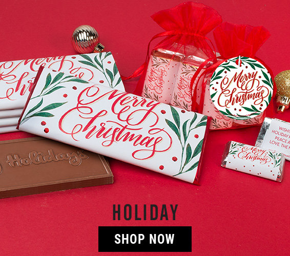 Shop Personalized Holiday Candy Favors