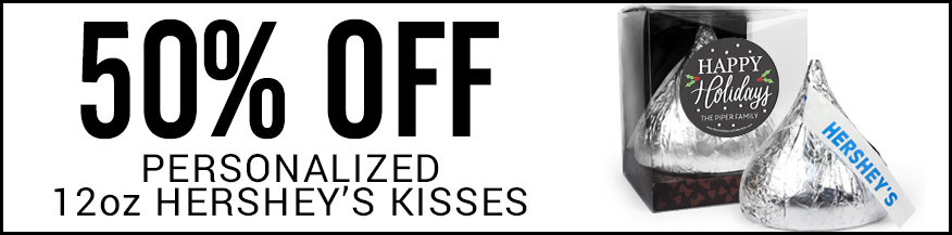 50% off 12 oz kisses
