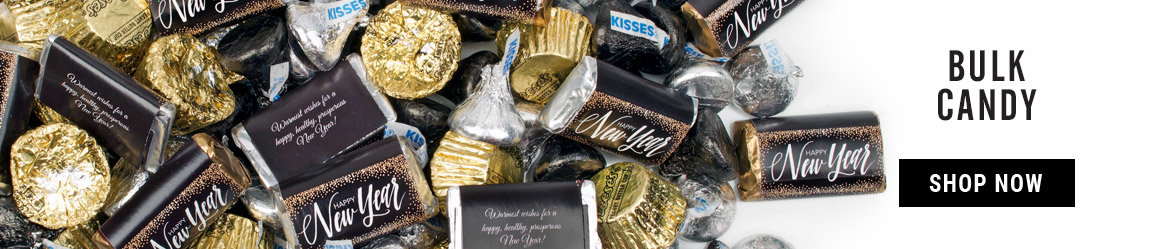 New Years Eve Bulk Candy Exclusive Hershey Mix