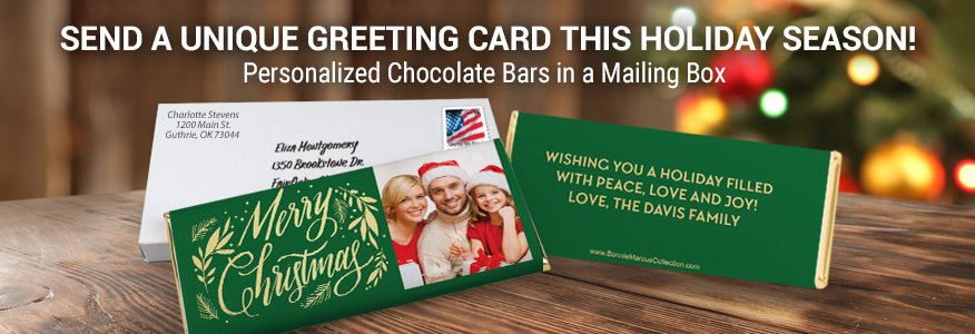 Send A Chocolate Bar Greeting Card