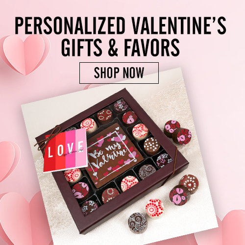 Shop Personalized Valentine Gifts and Favors