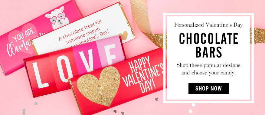 Shop Valentines Day Chocolate Bars