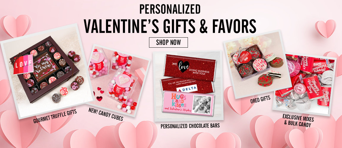 Shop Early for Valentine's Day Gifts and Favors