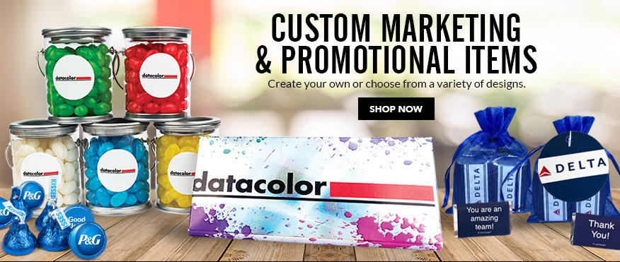 Shop Custom Marketing and Promotional Items
