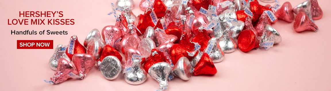 Hershey's Love Mix Kisses