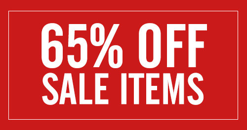 65% off sale items
