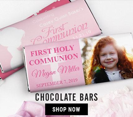 GIRL COMMUNION CHOCOLATE BARS