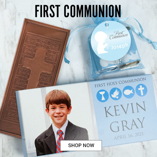 Shop Communion personalized favors