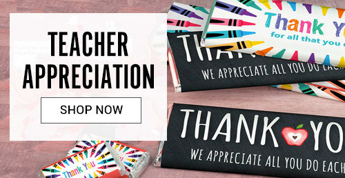 Shop Teacher Appreciation Personalized Favors