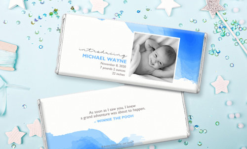 Shop Boy Birth Announcement Personalized Favors