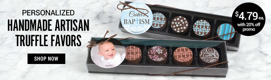 Shop Personalized Handmade Artisan Truffle Favors