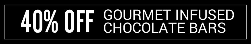 40% off all chocolate bars