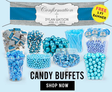 Shop Confirmation Candy Buffets