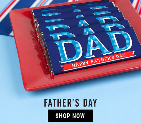 Father's Day Personalized Gifts and Favors