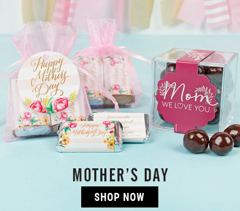 Mother's Day Personalized Gifts and Favors