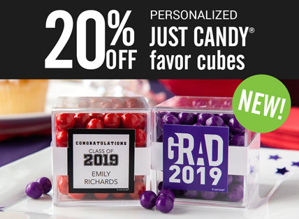 JUSTCANDY® favor cubes