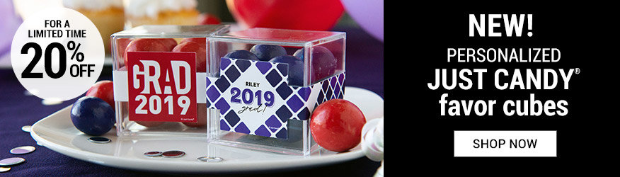 Shop New Graduation Sweet Candy in a Cube Favors