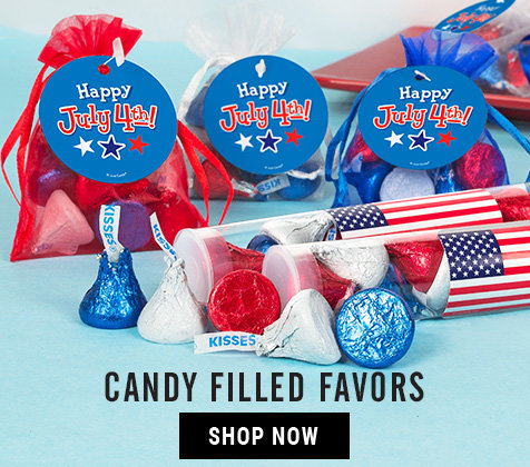 4th of July Candy Filled Favors