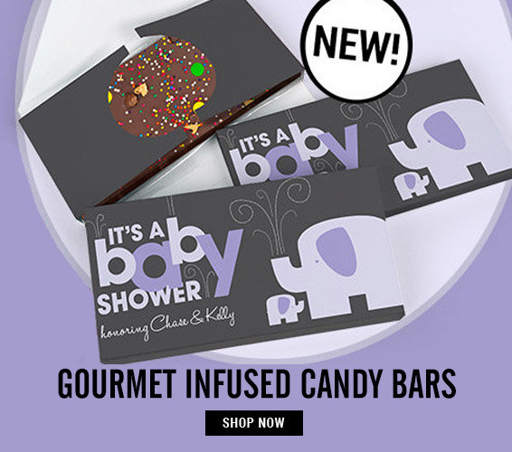 Shop Baby Gourmet Infused Candy Bars