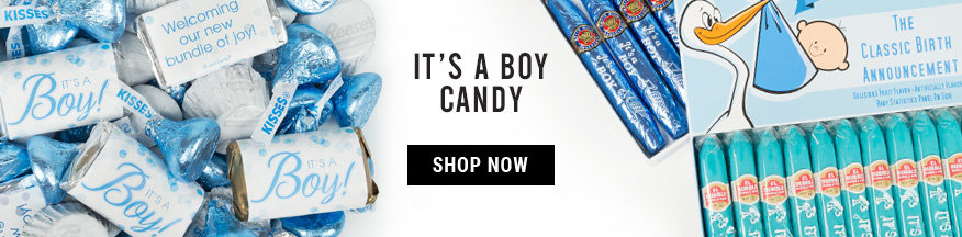 Its a Boy Bulk Candy