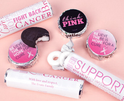 Shop Personalized Breast Cancer Mints
